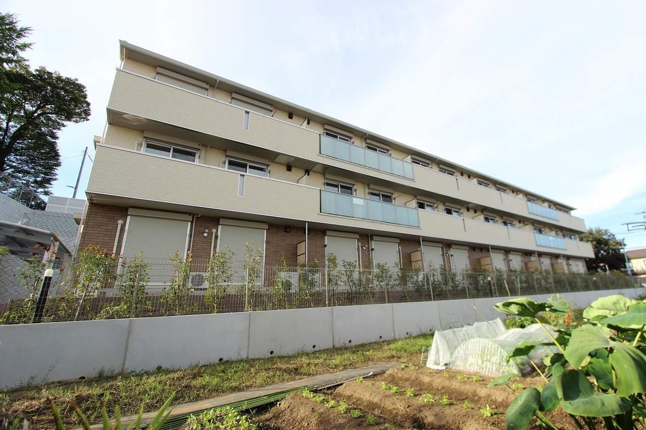 千葉県市川市、市川大野駅徒歩19分の築3年 3階建の賃貸アパート
