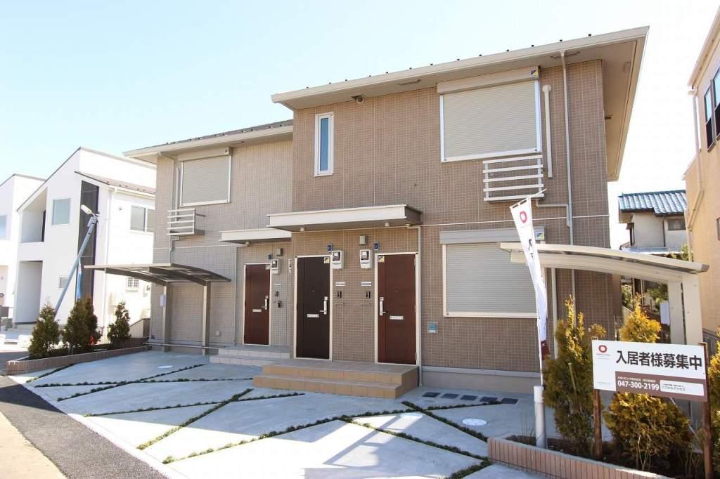 千葉県市川市、本八幡駅徒歩26分の築3年 2階建の賃貸アパート