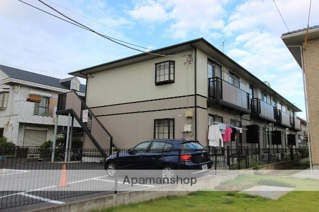 千葉県市川市、本八幡駅徒歩24分の築19年 2階建の賃貸アパート