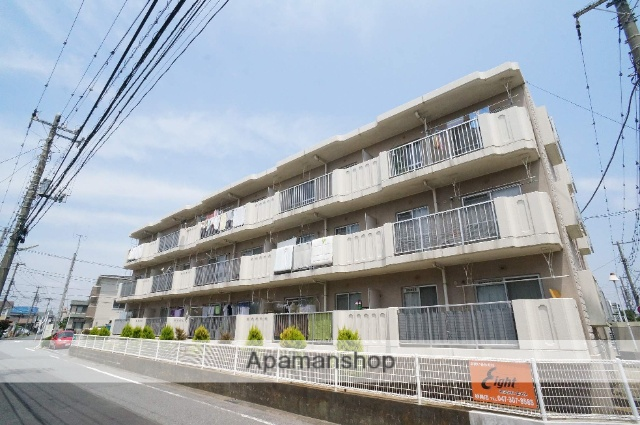 千葉県市川市、妙典駅徒歩9分の築30年 3階建の賃貸マンション
