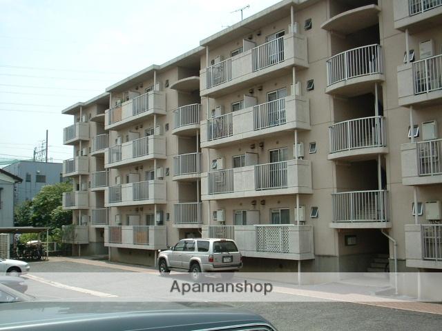 千葉県市川市、西船橋駅徒歩5分の築30年 4階建の賃貸マンション