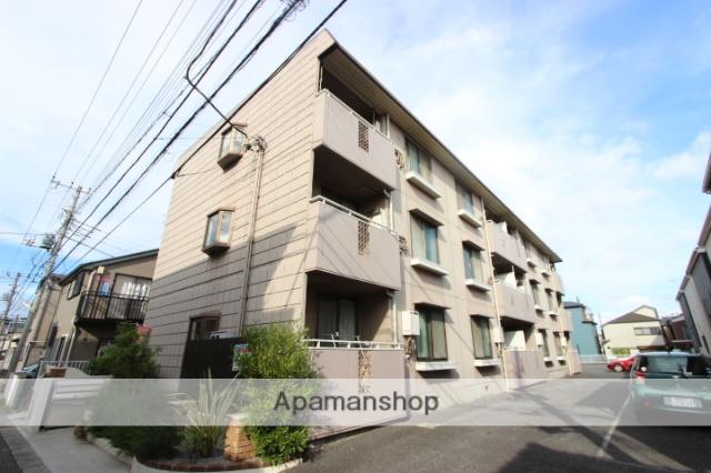 千葉県市川市、本八幡駅徒歩14分の築26年 3階建の賃貸マンション