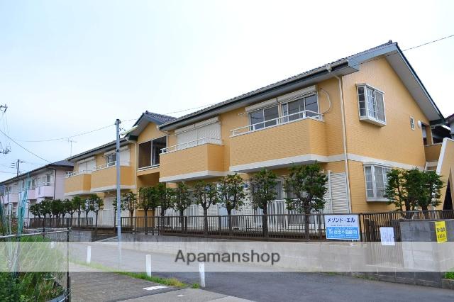 千葉県市川市、原木中山駅徒歩7分の築22年 2階建の賃貸アパート