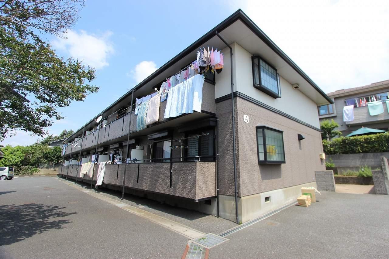 千葉県市川市、下総中山駅徒歩7分の築22年 2階建の賃貸アパート