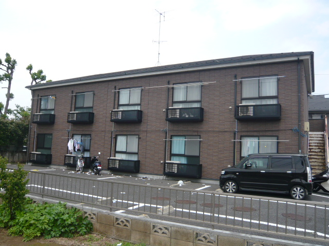 千葉県市川市、市川駅バス20分北台下車後徒歩6分の築16年 2階建の賃貸アパート