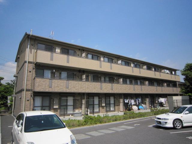 千葉県市川市、市川大野駅徒歩15分の築12年 3階建の賃貸アパート