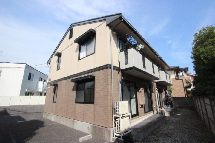 千葉県市川市、本八幡駅徒歩10分の築20年 2階建の賃貸アパート