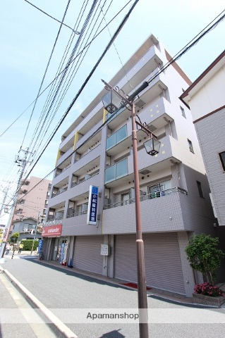 千葉県市川市、本八幡駅徒歩10分の築13年 6階建の賃貸マンション