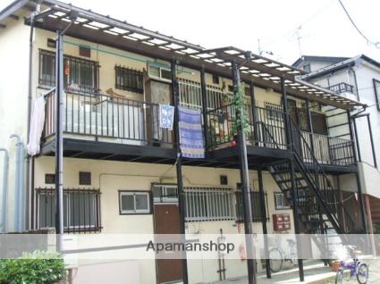 千葉県市川市、市川駅徒歩6分の築28年 2階建の賃貸アパート