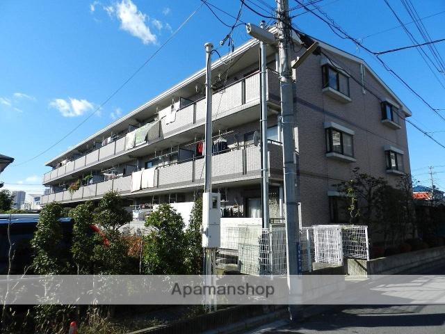 千葉県市川市、本八幡駅徒歩17分の築22年 3階建の賃貸マンション