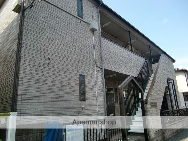 千葉県市川市、市川駅徒歩12分の築17年 2階建の賃貸アパート