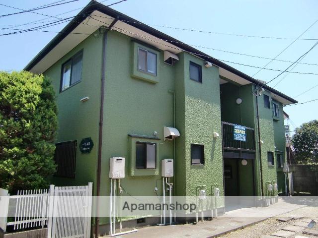千葉県市川市、市川駅徒歩9分の築27年 2階建の賃貸アパート