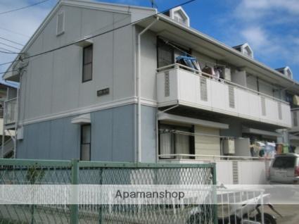 千葉県市川市、下総中山駅徒歩14分の築26年 2階建の賃貸アパート