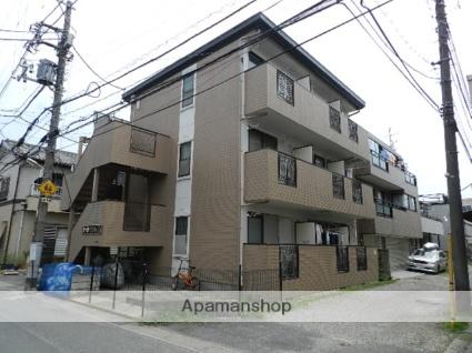 千葉県市川市、本八幡駅徒歩13分の築25年 3階建の賃貸マンション