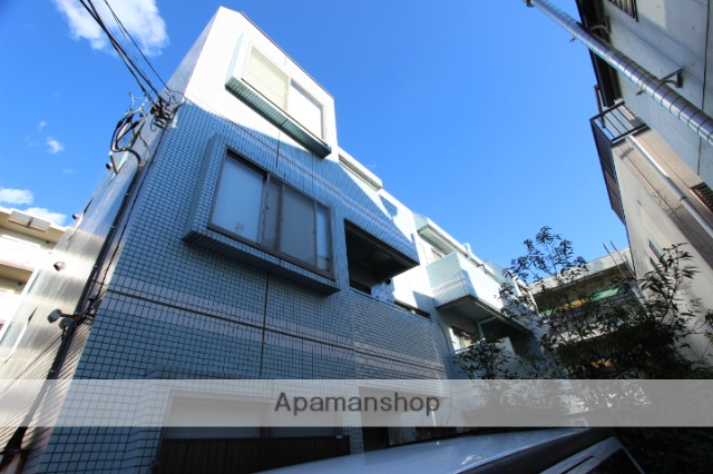 千葉県市川市、市川駅徒歩4分の築25年 3階建の賃貸マンション