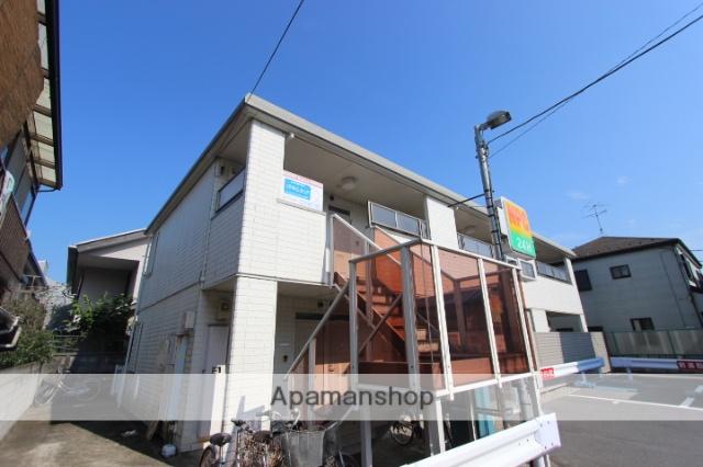 千葉県市川市、京成八幡駅徒歩15分の築24年 2階建の賃貸アパート