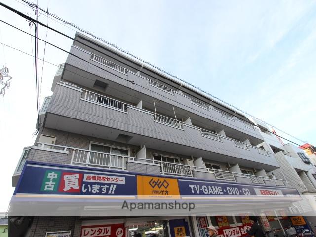 千葉県市川市、市川駅徒歩5分の築23年 4階建の賃貸マンション