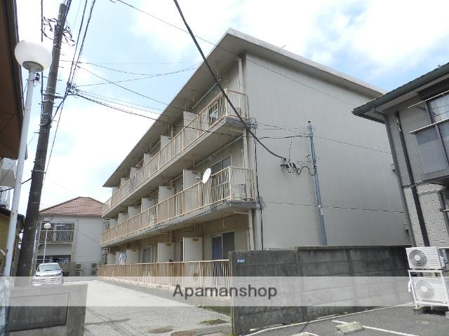 千葉県市川市、本八幡駅徒歩11分の築35年 3階建の賃貸マンション