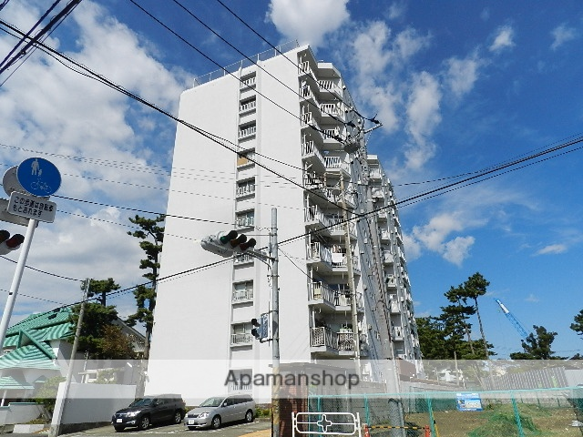 千葉県市川市、市川駅徒歩13分の築44年 10階建の賃貸マンション