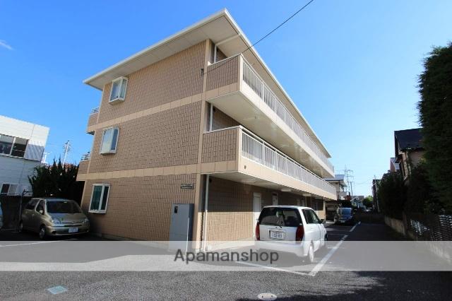 千葉県市川市、市川駅徒歩7分の築24年 3階建の賃貸アパート