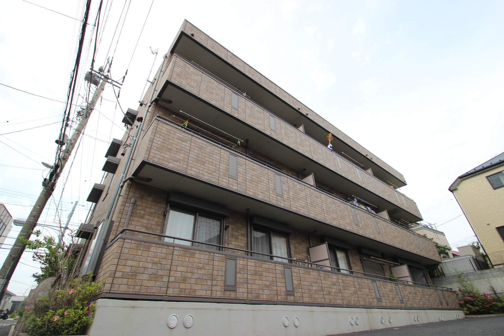 千葉県市川市、本八幡駅徒歩37分の築10年 3階建の賃貸アパート