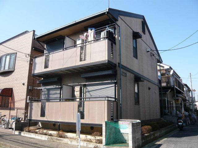 千葉県市川市、市川駅徒歩17分の築20年 2階建の賃貸アパート