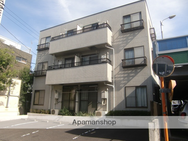 千葉県市川市、市川駅徒歩6分の築23年 3階建の賃貸マンション