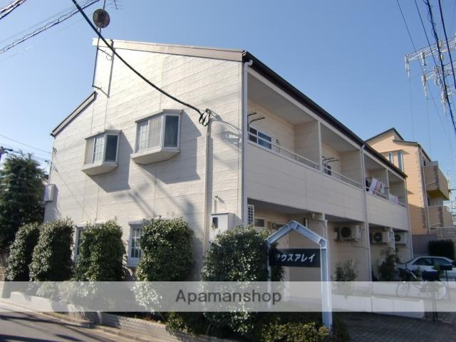千葉県市川市、市川駅徒歩9分の築22年 2階建の賃貸テラスハウス