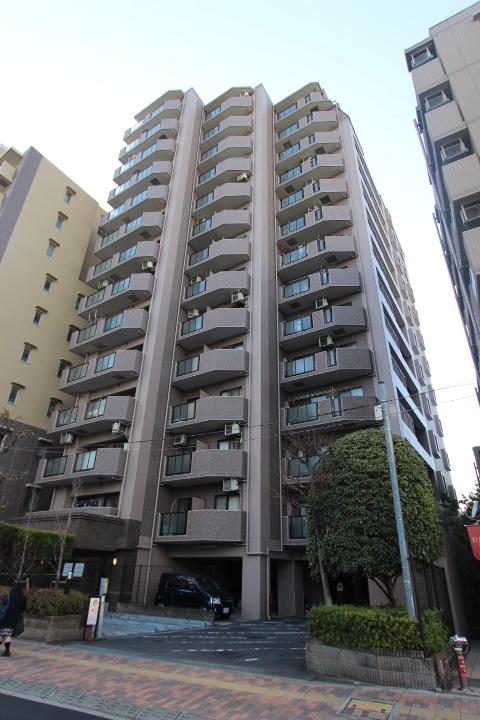 千葉県市川市、市川駅徒歩7分の築17年 14階建の賃貸マンション