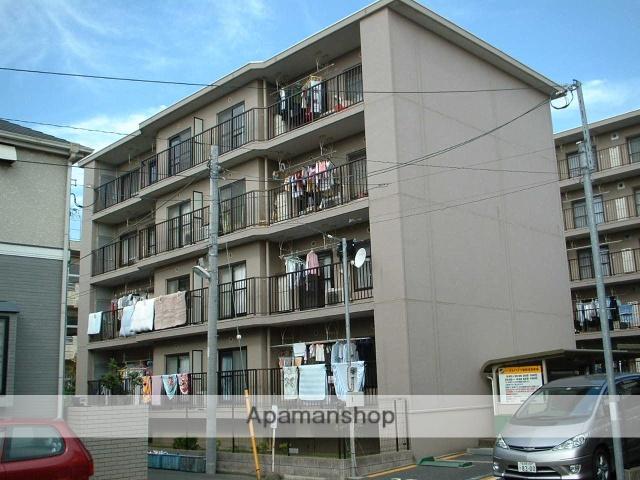 千葉県市川市、市川駅徒歩16分の築46年 4階建の賃貸マンション