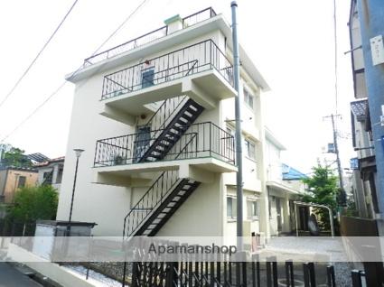 千葉県市川市、下総中山駅徒歩9分の築51年 3階建の賃貸マンション