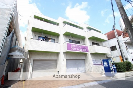千葉県市川市、市川駅徒歩6分の築29年 3階建の賃貸マンション