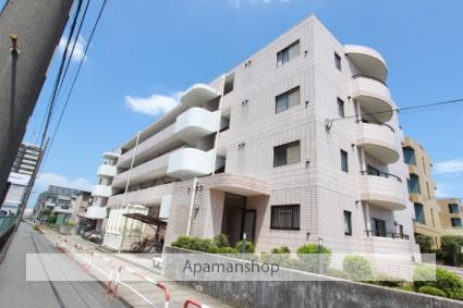 千葉県市川市、下総中山駅徒歩16分の築26年 4階建の賃貸マンション