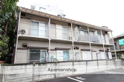 千葉県市川市、本八幡駅徒歩5分の築36年 2階建の賃貸アパート