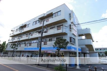 千葉県市川市、本八幡駅徒歩20分の築27年 4階建の賃貸マンション