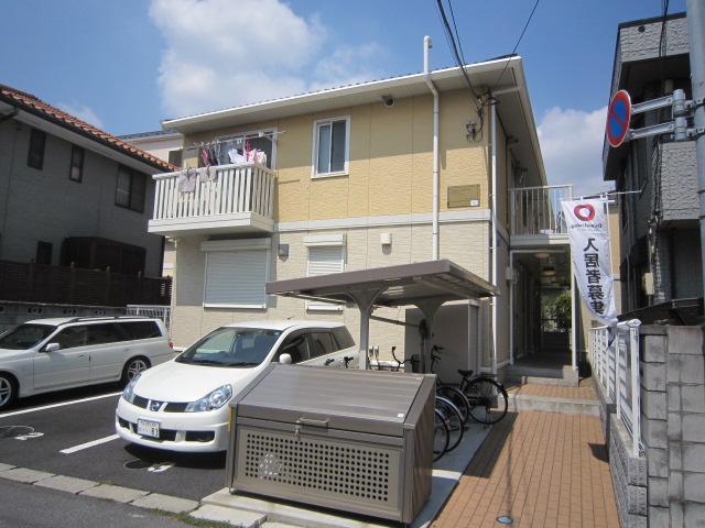 千葉県市川市、船橋法典駅徒歩18分の築9年 2階建の賃貸アパート
