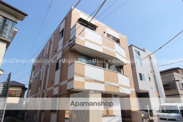 千葉県船橋市、下総中山駅徒歩8分の築5年 3階建の賃貸マンション