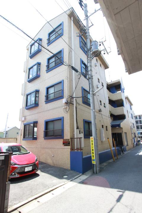 千葉県市川市、下総中山駅徒歩6分の築29年 4階建の賃貸マンション