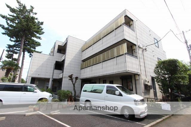 千葉県市川市、本八幡駅徒歩16分の築22年 3階建の賃貸マンション