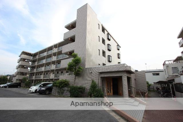 千葉県市川市、本八幡駅徒歩13分の築23年 5階建の賃貸マンション