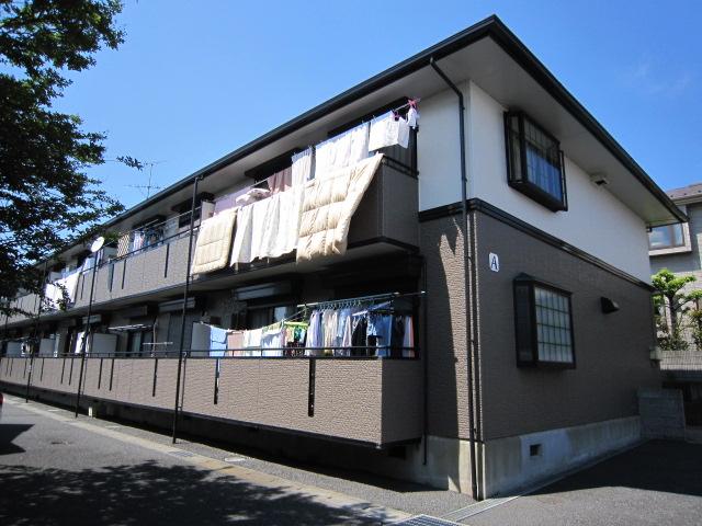 千葉県市川市、下総中山駅徒歩7分の築23年 2階建の賃貸アパート
