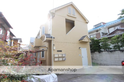 千葉県市川市、市川駅徒歩15分の築27年 2階建の賃貸アパート