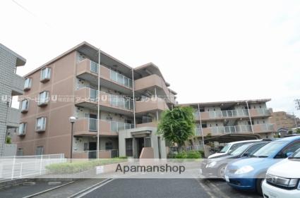 千葉県市川市、原木中山駅徒歩5分の築25年 4階建の賃貸マンション