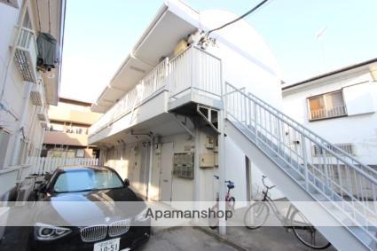 千葉県市川市、本八幡駅徒歩8分の築23年 2階建の賃貸アパート