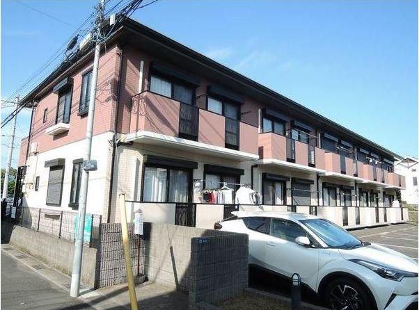 千葉県市川市、本八幡駅徒歩22分の築19年 2階建の賃貸アパート