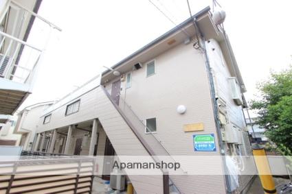 千葉県市川市、下総中山駅徒歩13分の築26年 2階建の賃貸アパート