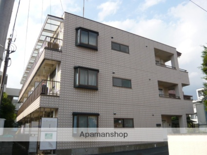 千葉県市川市、本八幡駅徒歩11分の築28年 3階建の賃貸マンション