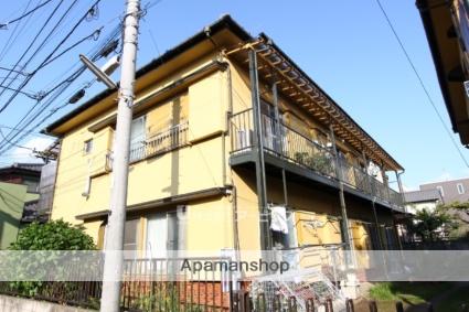 千葉県市川市、下総中山駅徒歩3分の築40年 2階建の賃貸アパート