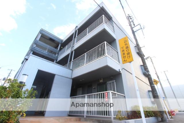 千葉県市川市、下総中山駅徒歩26分の築27年 3階建の賃貸マンション