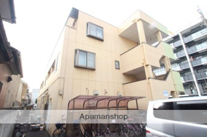 千葉県市川市、本八幡駅徒歩20分の築19年 3階建の賃貸アパート